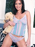 1 Cute Crissy Moran stripping naked before bedtime